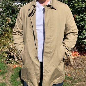 Ben Sherman khaki trench coat men's 3XL
